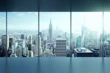 Blick auf Skyline - Perspektive erweitern durch Change Management