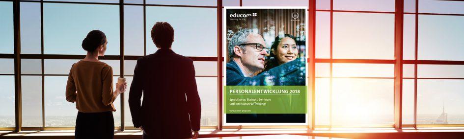 Programmkatalog der educom GmbH - Sprachkurse - Business Seminare - Interkulturelle Trainings
