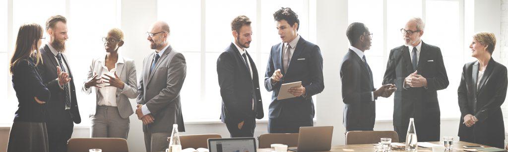 Firmentraining in der Gruppe bei der educom GmbH