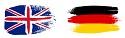 Deutschkurs Englischkurs Flaggen
