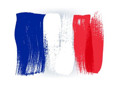 Flagge - Sprachkurs Französisch