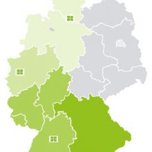 educom-Standorte in Deutschland